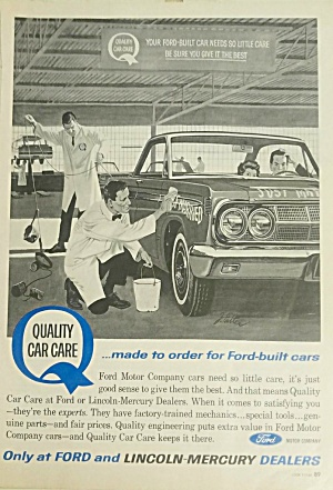 1964 John Falter Illustrated Mercury Print Ad - 1964 Comet