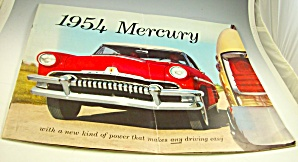 1954 Mercury Dealer Huge Sales Brochure-original