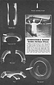 1955 Baton Directs Airliner Pilot Mag Article