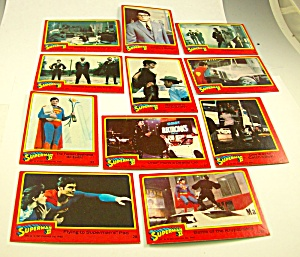 Lot Of Cards Garbage Pail Kids Superman Ii Super Stars