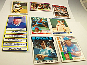 Lot Of 1980s/1990s Collector Baseball-basketball Cards