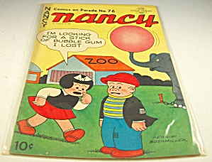 Collection Of 5 Vintage Nancy And Sluggo Comics Lot 3