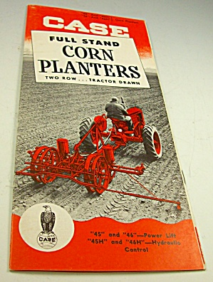 1950s Case Tractor Full Stand Corn Planters Brochure