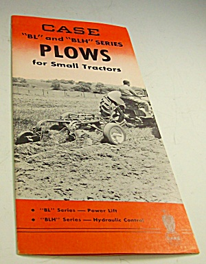 1950s? Case Tractor Plows Sales Brochure