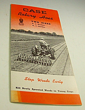 1950s? Case Tractor Rotary Hoes Sales Brochure