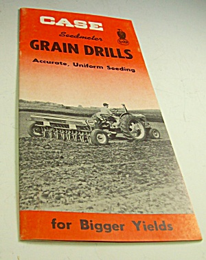 1950s? Case Tractor Seedmeter Grain Drills Brochure