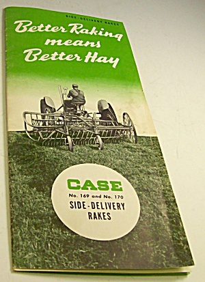 1950s? Case Tractor Side Delivery Rakes Brochure