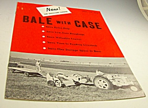 Case Farm Tractor Model 140 Baler Sales Brochure