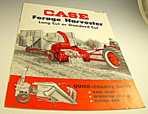 Case Tractor Forage Harvester C2 Brochure-original