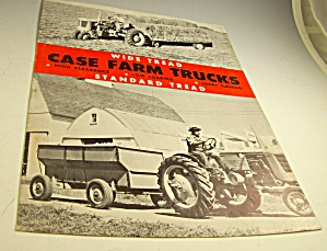 Case Trucks For Farm Tractors Brochure-original