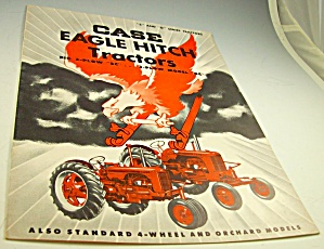 Case Eagle Hitch Tractor Series D/s Dealer Brochure