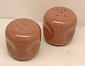 Russel Wright Coral Salt And Pepper Shakers