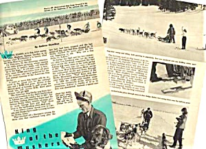 1949 Sled Dog Ashton Idaho American Derby Racing Mag. Article