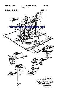 Patent Art: 1960s Mattel Circus Toy - Matted