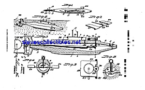 Patent Art: 1910s Toy Submarine - Matted