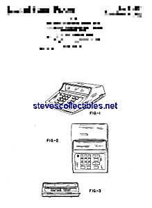 Patent Art: 1970s Electronic Calculator