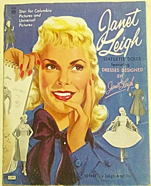 1957 Original Lowe Janet Leigh Paper Dolls