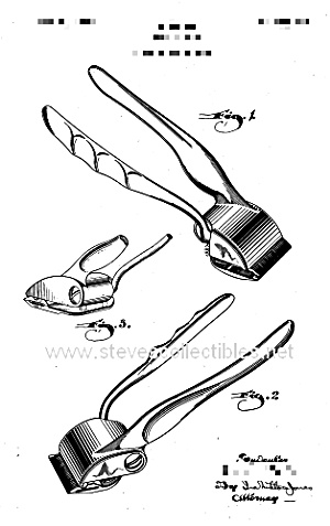 Patent Art: 1940s Hair Clippers - Matted For Framing
