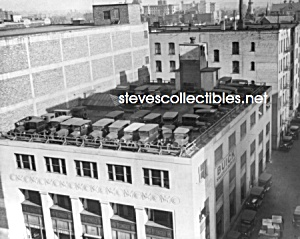 C.1925 Buick Dealership - Roof Parking Photo - 8x10