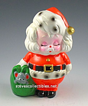 Cutest 1976 Tackiest Santa Claus Pottery Toy Bank