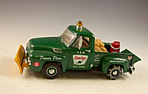 Matchbox 1954 Ford F100 K&m Sinclair Oil Snowplow 1:43