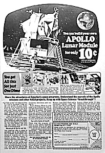 1969 Toy Apollo Lunar Module Ad L@@k