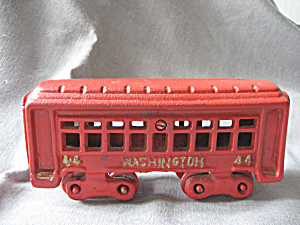 Cast Iron Train Car
