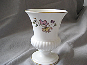 Wedgewood Flowered Vase