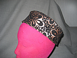 Satin And Felt Pill Box Hat
