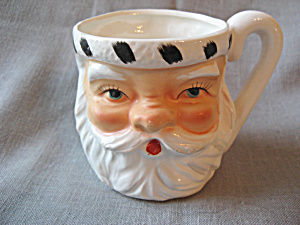 Lefton Santa And Mrs Santa Cup