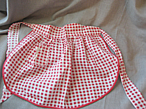 Childs Red Apron