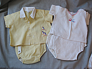Two 1950s Boys Outfits