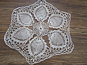 Pineapple Style Doily