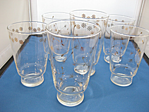 Six Libbey Glasses