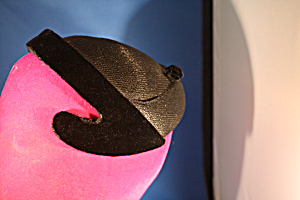 Black And Velvet Saks Fifth Avenue Hat