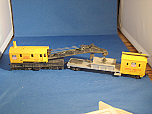 Union Pacific Crane Car And Boom