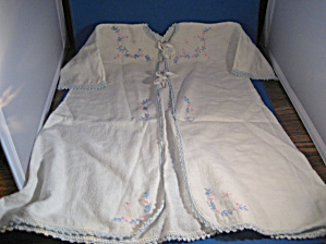 Hand Made Infant Gown