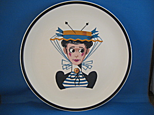Victorian Lady Canonsburg Plate