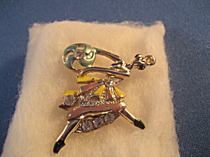 Dancing Lady Pin
