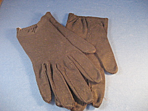 Black Scallop Gloves