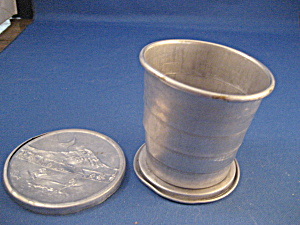 Very Old Folding Drinking Cup