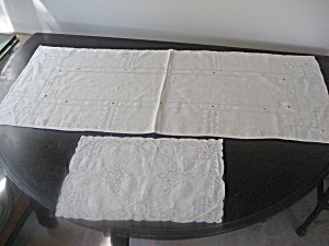 Table Runner And Dresser Scarf