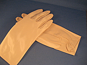 Satin Short Gloves