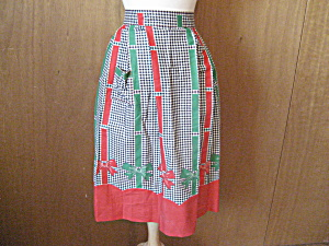 Christmas Ribbon Apron