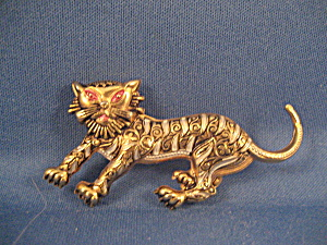 Lion Brooch Made In Spain