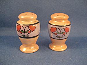 Lusterware Salt And Pepper Shakers