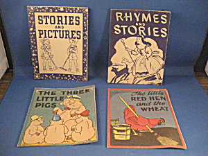 Four Vintage Give A Way Books