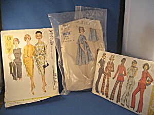 Three Vintage Patterns