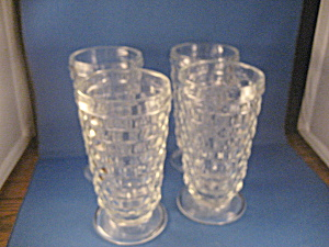 Fostoria American Tea Glasses