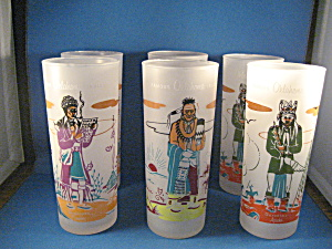 Six Oklahoma Indians Glasses
